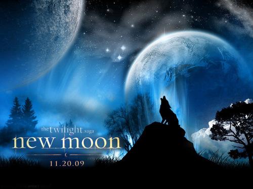 new moon 壁紙