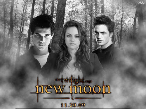 new moon پیپر وال