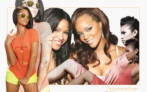 Rihanna and cassie