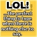 saying lol icon
