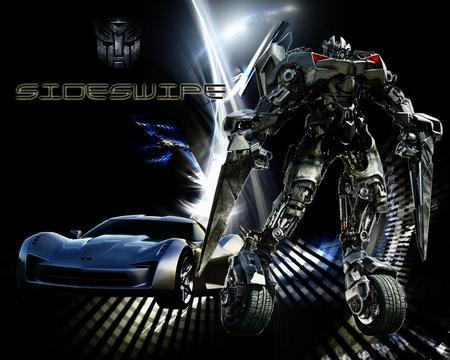 Transformers wallpaper possibly with an internal combustion engine and a gasoline engine titled sideswipe