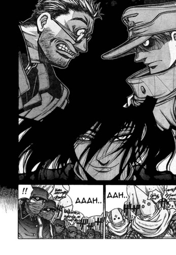 the captain - hellsing mangá