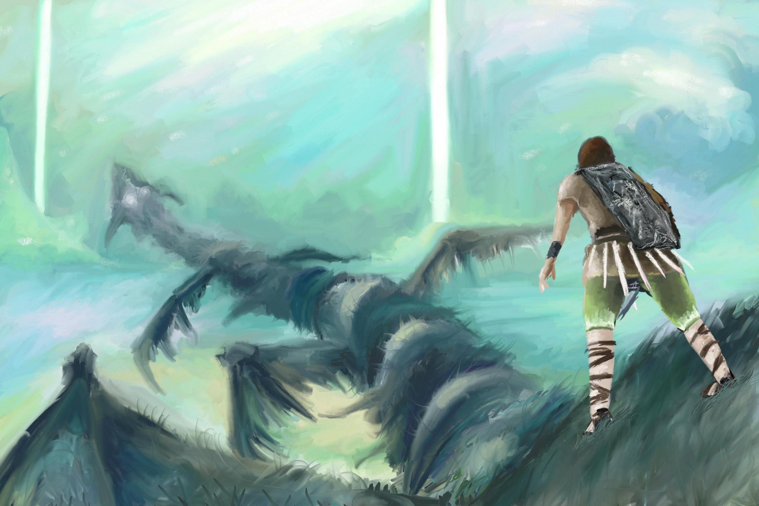 Shadow of the Colossus images whach your step HD wallpaper ...