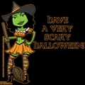 wicked witch halloween icon