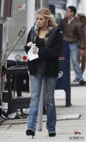 """NOVEMBER 2ND - BLAKE ON THE SET OF THE MOVIE """"THE TOWN"""""""