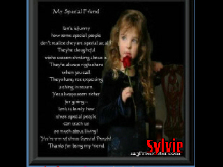 *Sylvie My Special Friend* Vicky