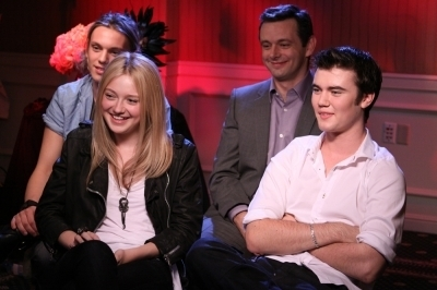 تصاویر of the 'New Moon' cast doing Press in LA