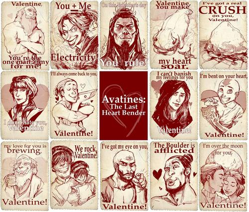 A Very Avatar Valentine's Day