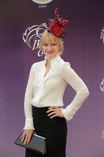 AJ Cook@Breeders' Cup World thoroughbred Championships