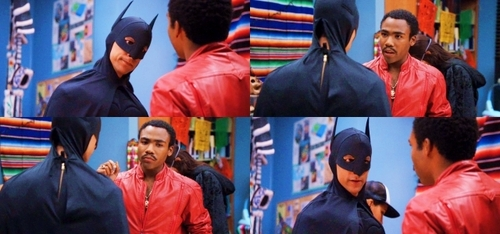 Abed as batman Picspam