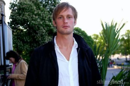 Alexander Skarsgård wallpaper possibly containing a portrait entitled Alexander Skarsgård
