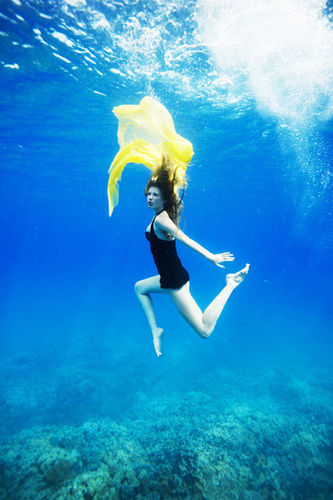 America's suivant haut, retour au début Model Cycle 13 Underwater Photoshoot