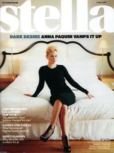 Anna in Stella magazine