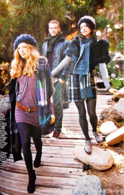 Ashley Greene, Kellan Lutz and Rachelle Lefevre in November