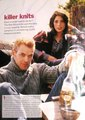 Ashley Greene, Kellan Lutz and Rachelle Lefevre in November Self Magazine Issue - twilight-series photo