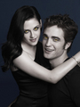 BELLA & EDWARD as vampires