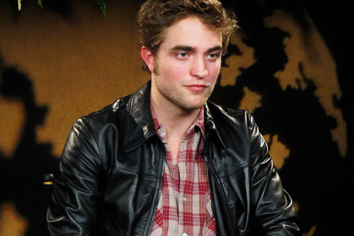 Backstage pics of Rob's interviews