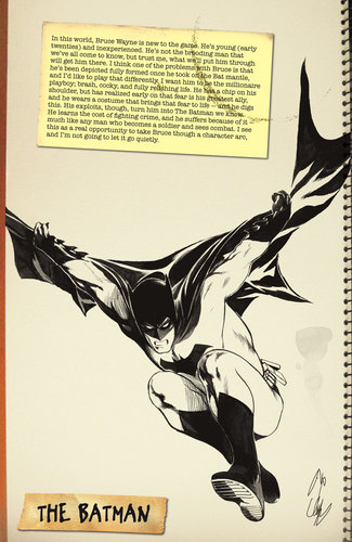 batman First wave sketchbook