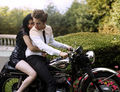 Bazaar's photoshoot w/ Rob & Kristen