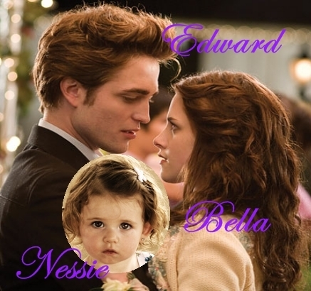 Bella, Edward and Nessie forever!!!