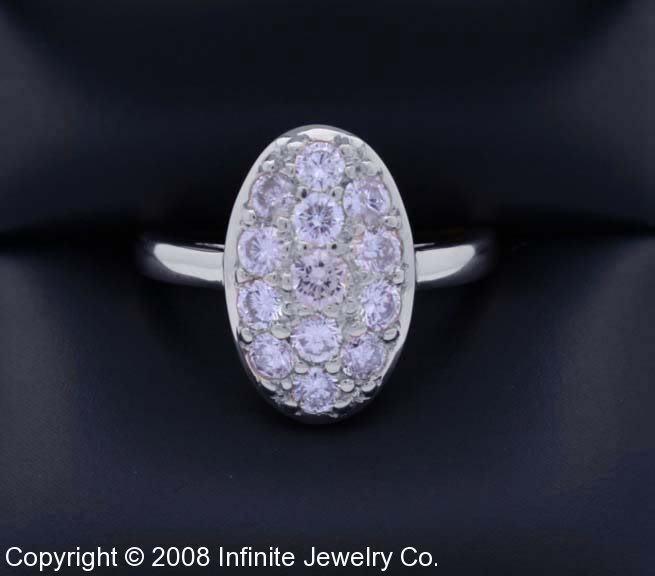 Twilight Bella s Wedding Ring, white gold, diamond