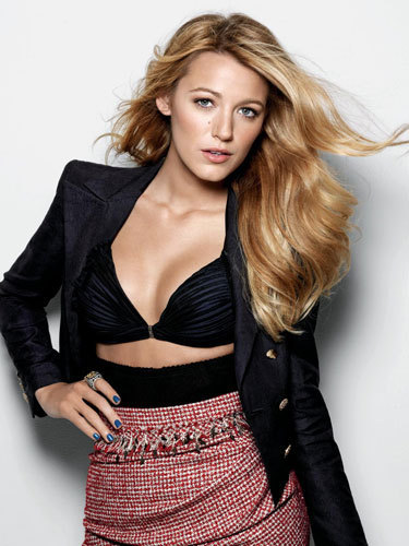 Blake Lively Photoshoot- Marie Claire Magazine