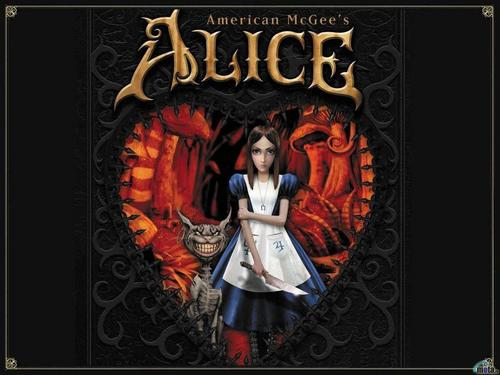 American McGee's Alice wallpaper probably with anime titled Box Art Wallpaper