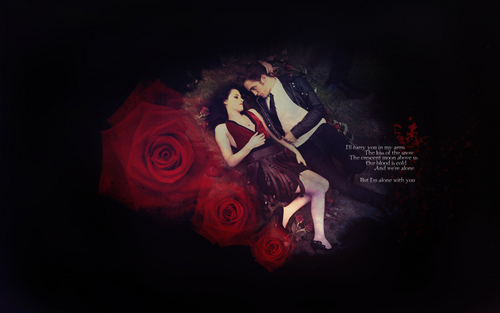But I'm Alone With You - twilight-series Wallpaper