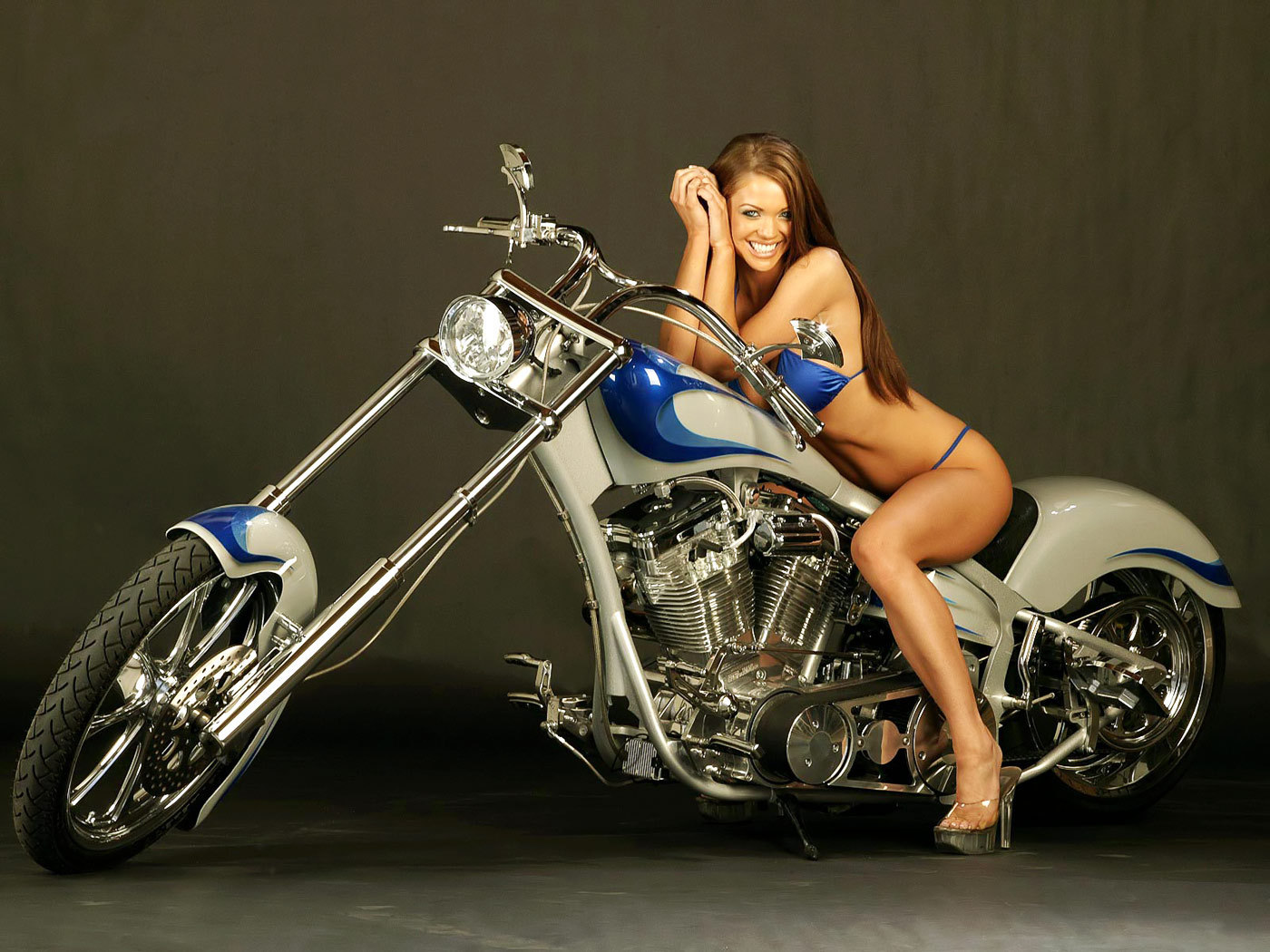 CHOPPER BABE - motorcycles wallpaper