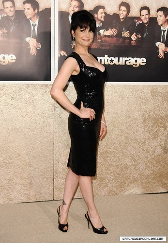 Carla Gugino | Entourage 6th Season Premiere