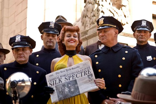 Carla Gugino as Sally Jupiter / Silk Spectre in Watchmen