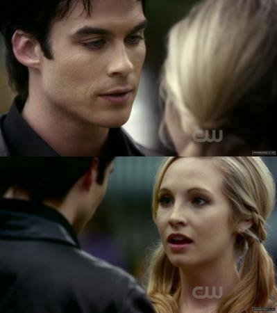 Caroline and Damon