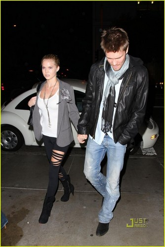 Chad Michael Murray & Kenzie Dalton: STK Dinner Date