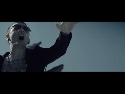 "Chester Bennington in the ""Crawl Back In"" video"