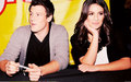 Cory and Lea - glee photo