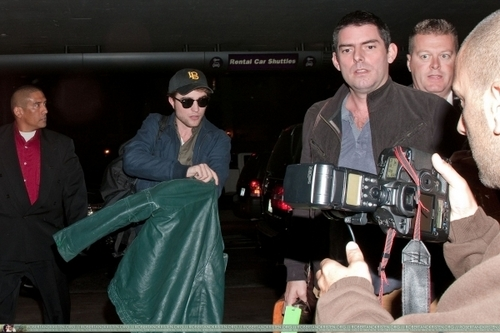 Departing LAX (11.08.09)