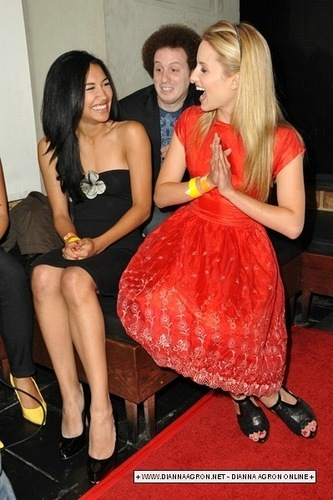 Dianna Agron and Naya Rivera - dianna-agron Photo