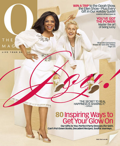 Ellen graces O Magazine