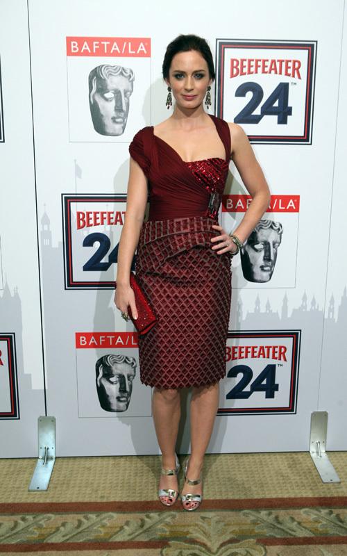 Emily at the 2009 BAFTA/LA Britannia Awards
