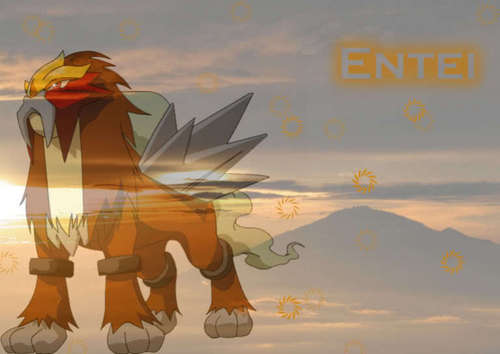 Entei sunset