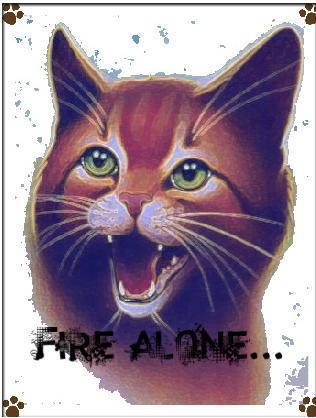 آگ کے, آگ Alone...