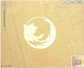 Firefox crop circle - firefox photo