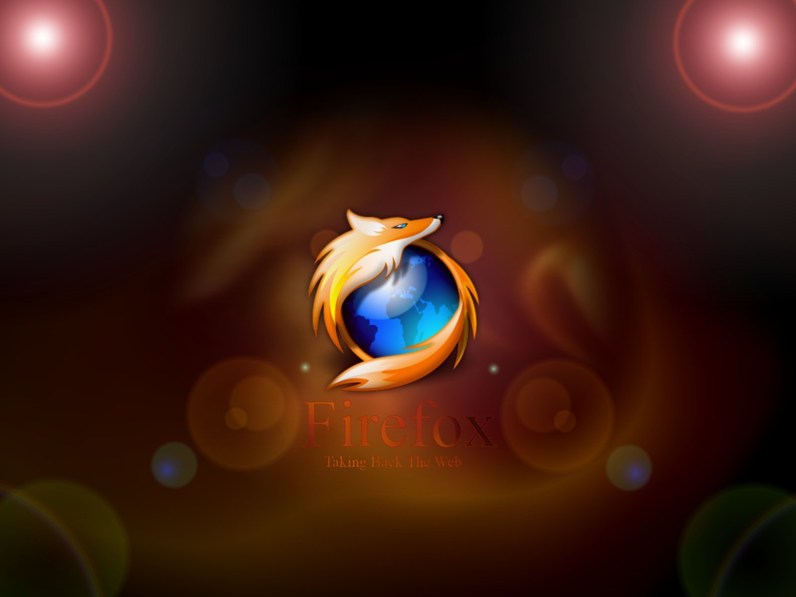 Picture Abstract Firefox Wallpaper - Abstract Firefox Wallpaper