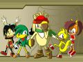 Forgotten Sonic Friends: Battle Style!