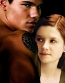 Ginny (Nessie) and Jacob  - jacob-black-and-renesmee-cullen photo