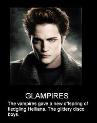 Twilight vs The Vampire Lestat wallpaper possibly with anime and a portrait titled Glampires (The New Vampire) *Joke*