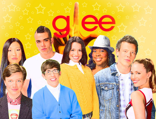 Glee cast wallpaper