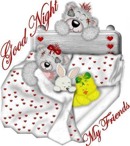 Good night for my friends