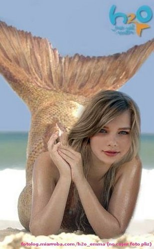 Indiana Evans wallpaper called H20 Bella
