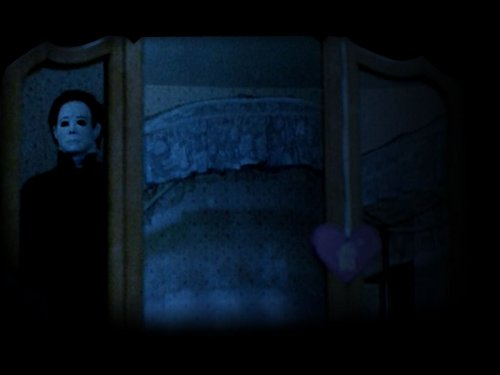 Michael Myers wallpaper containing a window seat entitled Halloween 4